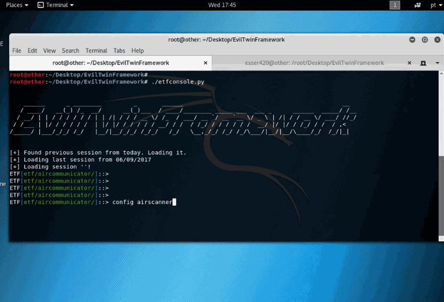 nemesis packet injection tutorial