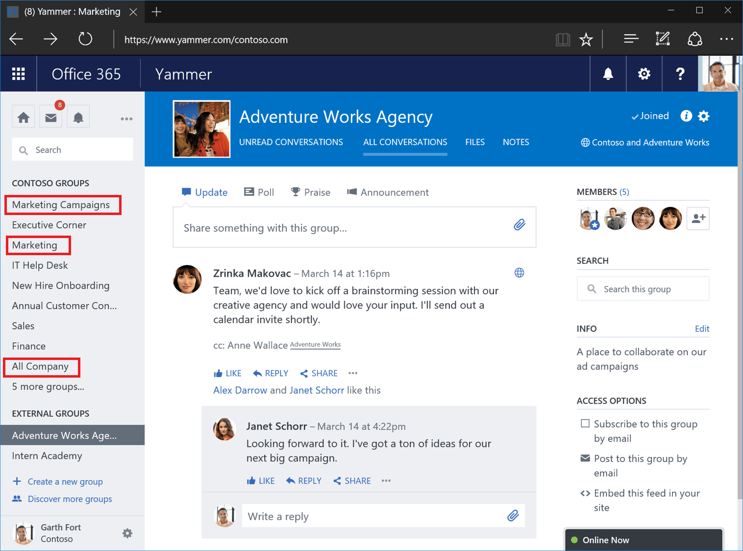 office 365 yammer tutorial