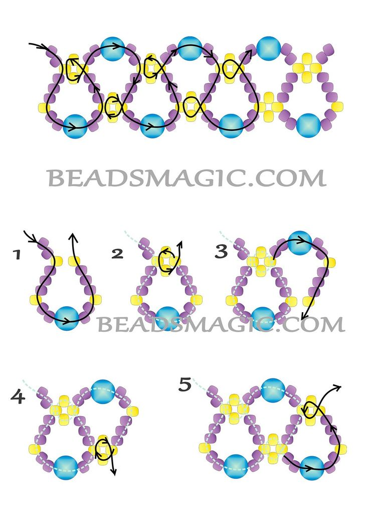 beaded necklace tutorial free