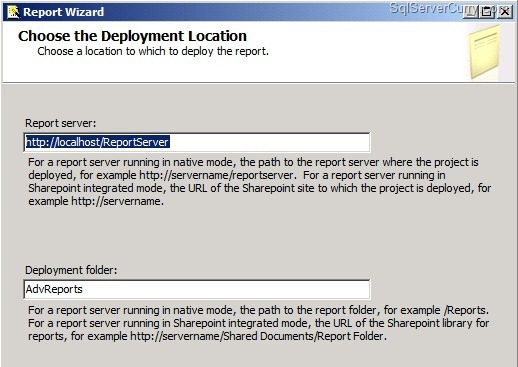 sql server reporting services tutorial