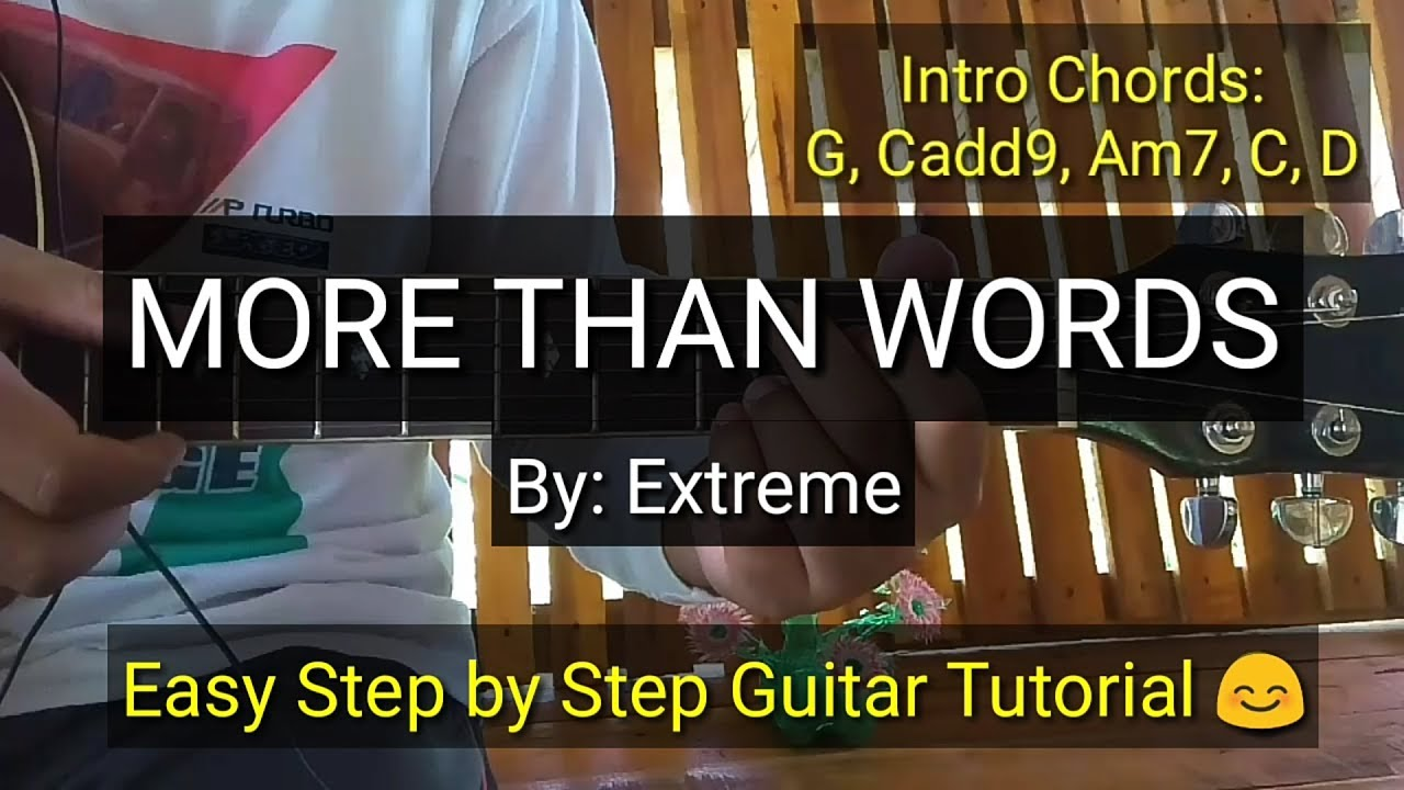 more than words tutorial