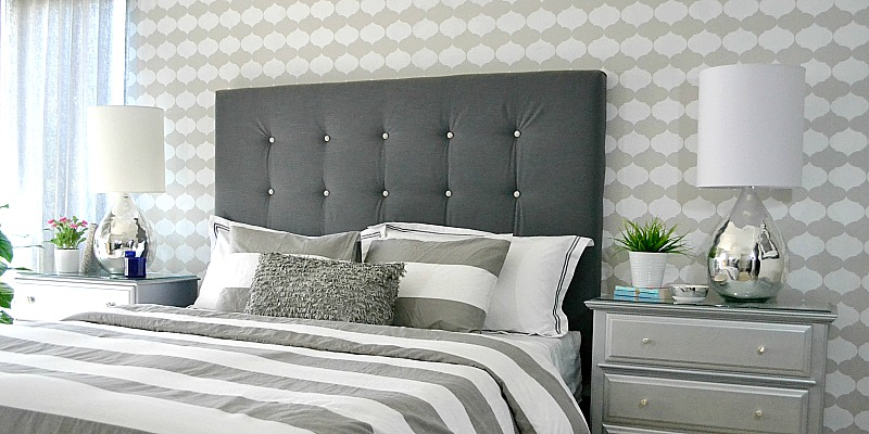 diy door headboard tutorial