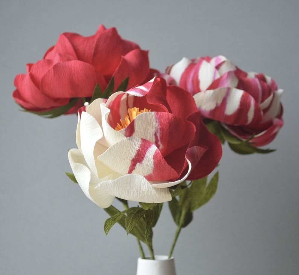 tissue paper rose tutorial