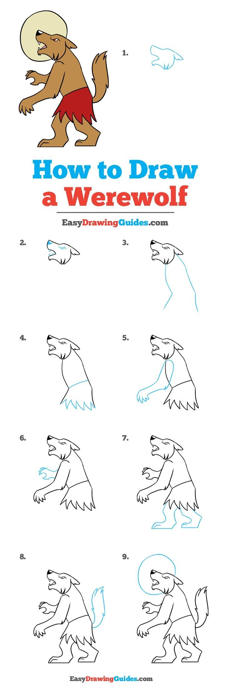 how to draw a dog tutorial