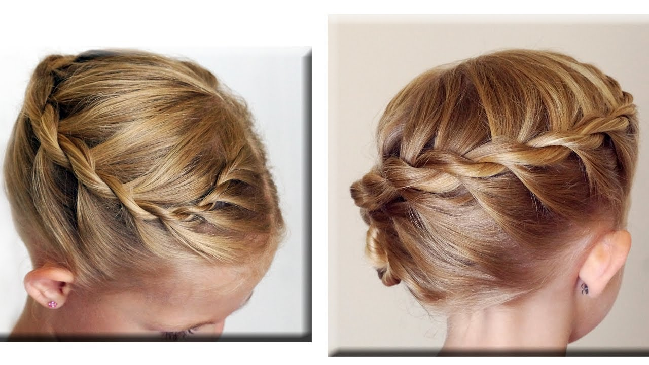 side updos for long hair tutorial