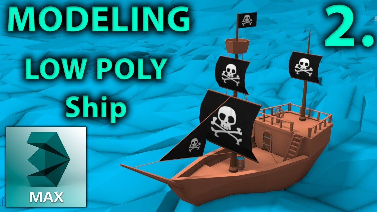 low poly modeling tutorial 3ds max