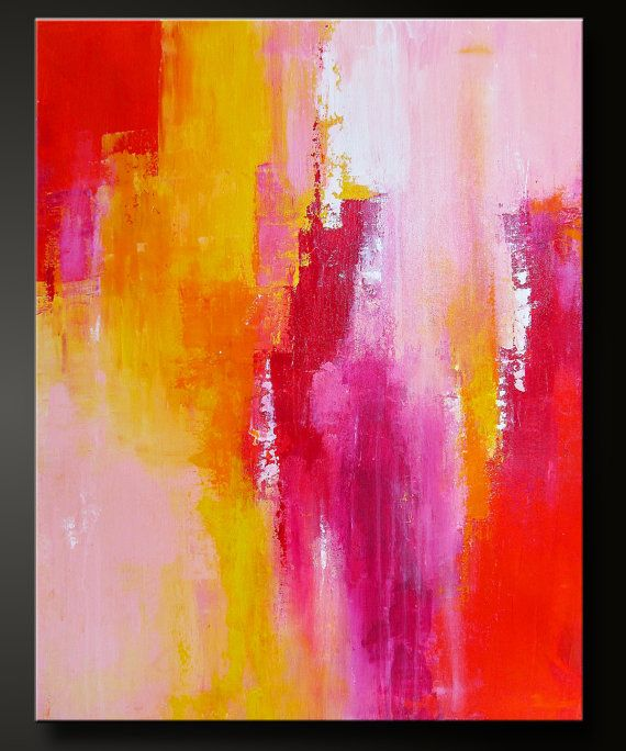 modern abstract painting tutorial