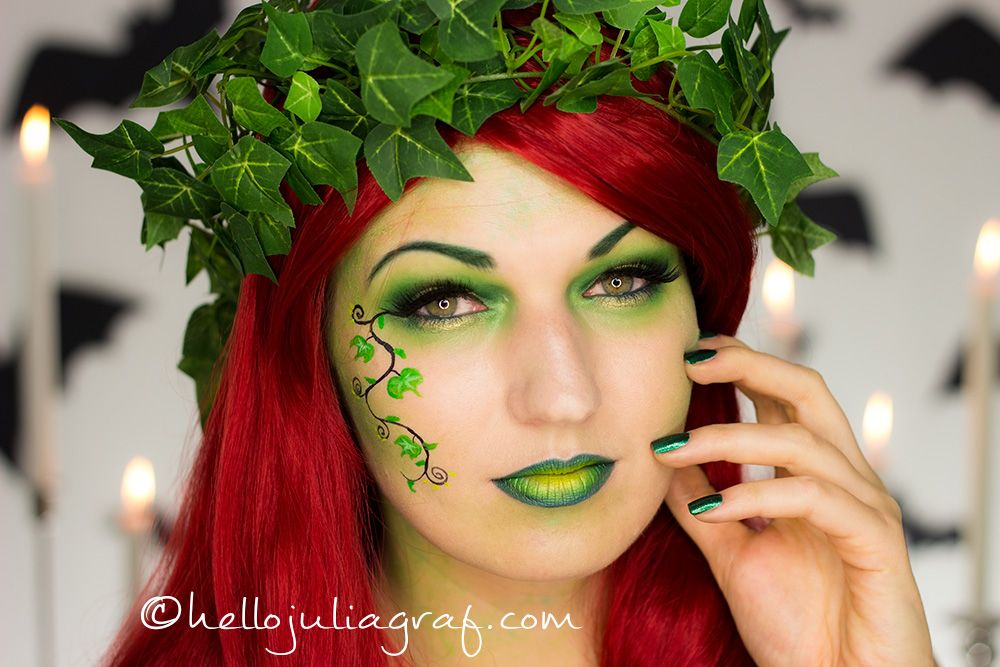 poison ivy cosplay tutorial