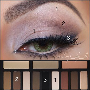 shade and light palette tutorial